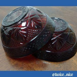 Avon Cape Cod Collection Vintage Bowls (2)